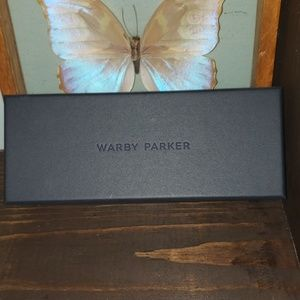 New Warby Parker Hardcover Storage Gift Box